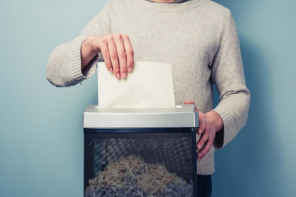 Welche Steuerunterlagen zum Jahreswechsel vernichtet werden können